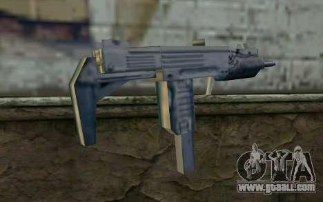 MP5 from GTA Vice City for GTA San Andreas second screenshot