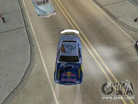 Chevrolet Camaro SS RedBull for GTA San Andreas right view