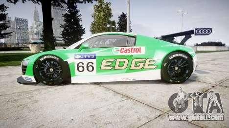 Audi R8 LMS Castrol EDGE for GTA 4 left view