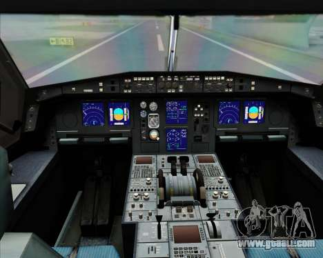 Airbus A340-300 All Nippon Airways (ANA) for GTA San Andreas interior