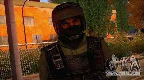 Urban from Counter Strike Condition Zero for GTA San Andreas third screenshot