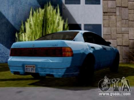 GTA V Intruder for GTA San Andreas left view