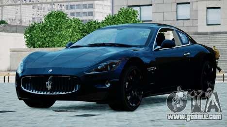 Maserati Granturismo 2012 for GTA 4