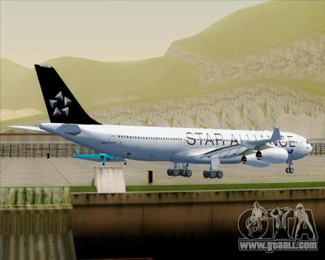 Airbus A340-300 All Nippon Airways (ANA) for GTA San Andreas wheels