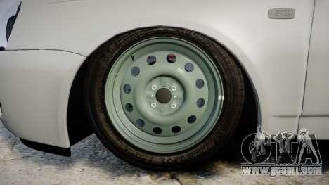 ВАЗ-2170 high quality for GTA 4 back view