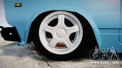 VAZ-2107 best model for GTA 4 back view