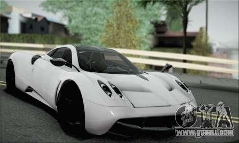Pagani Huayra TT Ultimate Edition for GTA San Andreas