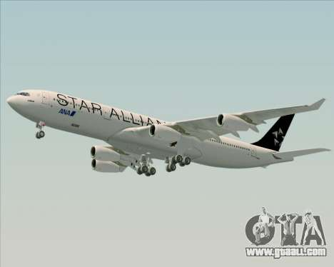 Airbus A340-300 All Nippon Airways (ANA) for GTA San Andreas inner view