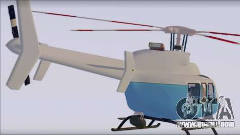 Bell 407 for GTA San Andreas left view