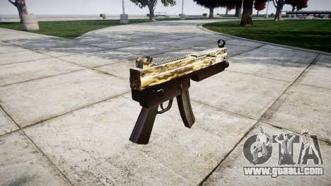 Submachine gun MP5 Desert for GTA 4 second screenshot