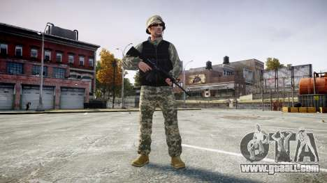 Medal of Honor LTD Camo1 for GTA 4