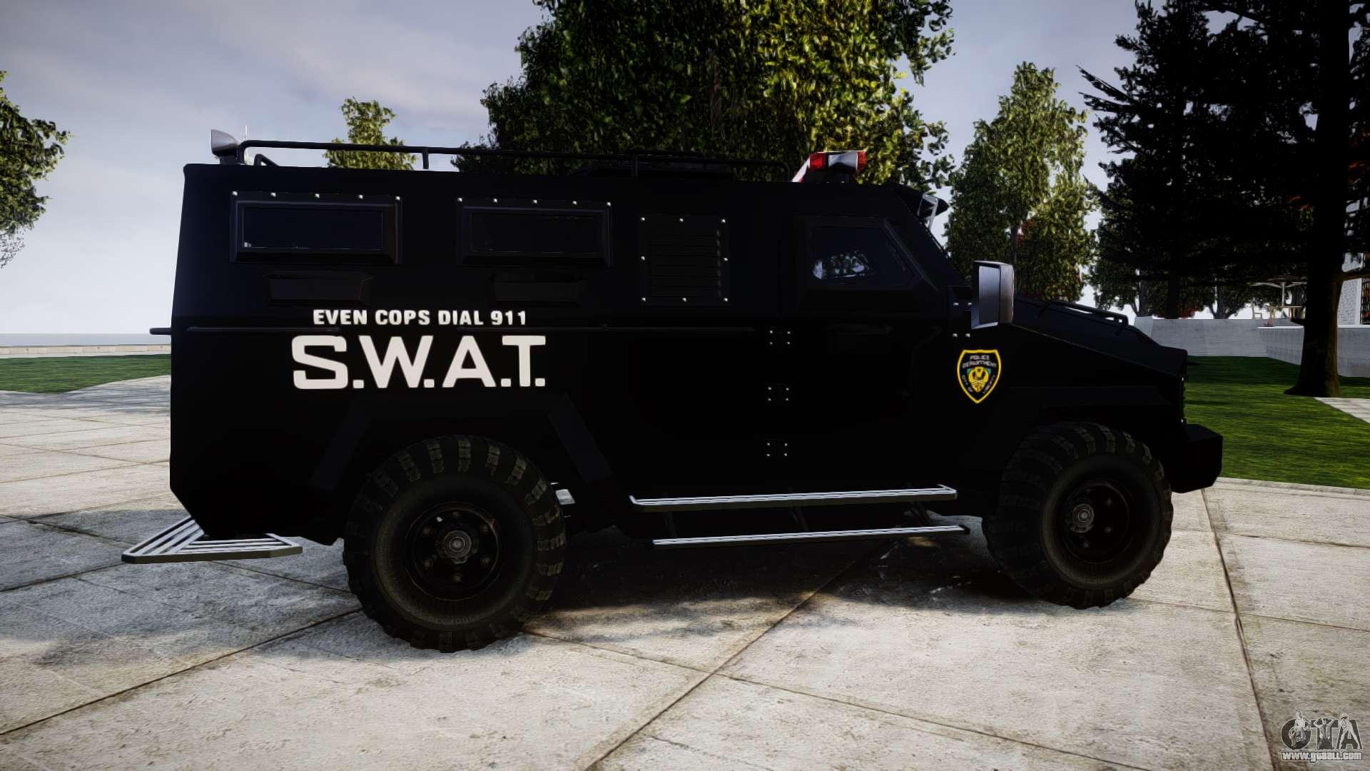 swat van for gta 4