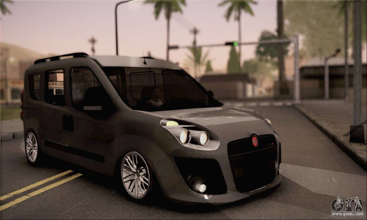 fiat doblo 2010 for gta san andreas. Black Bedroom Furniture Sets. Home Design Ideas