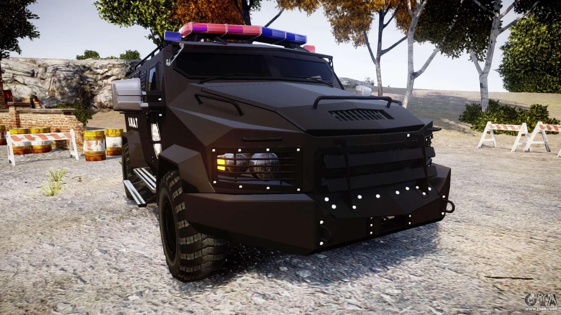 Swat Van Metro Police Els For Gta 4