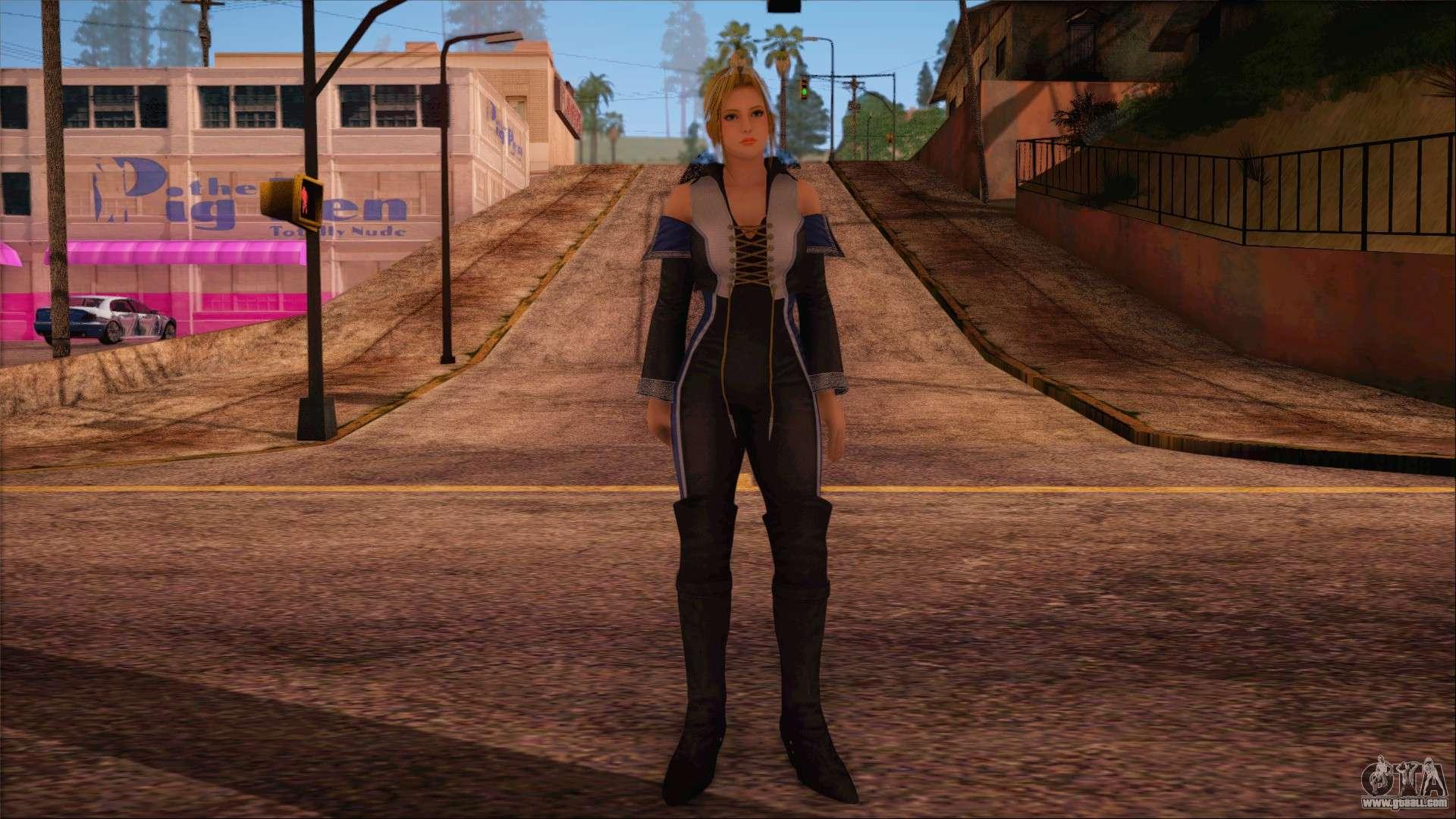 Beautiful female skins v. 2 for GTA San Andreas