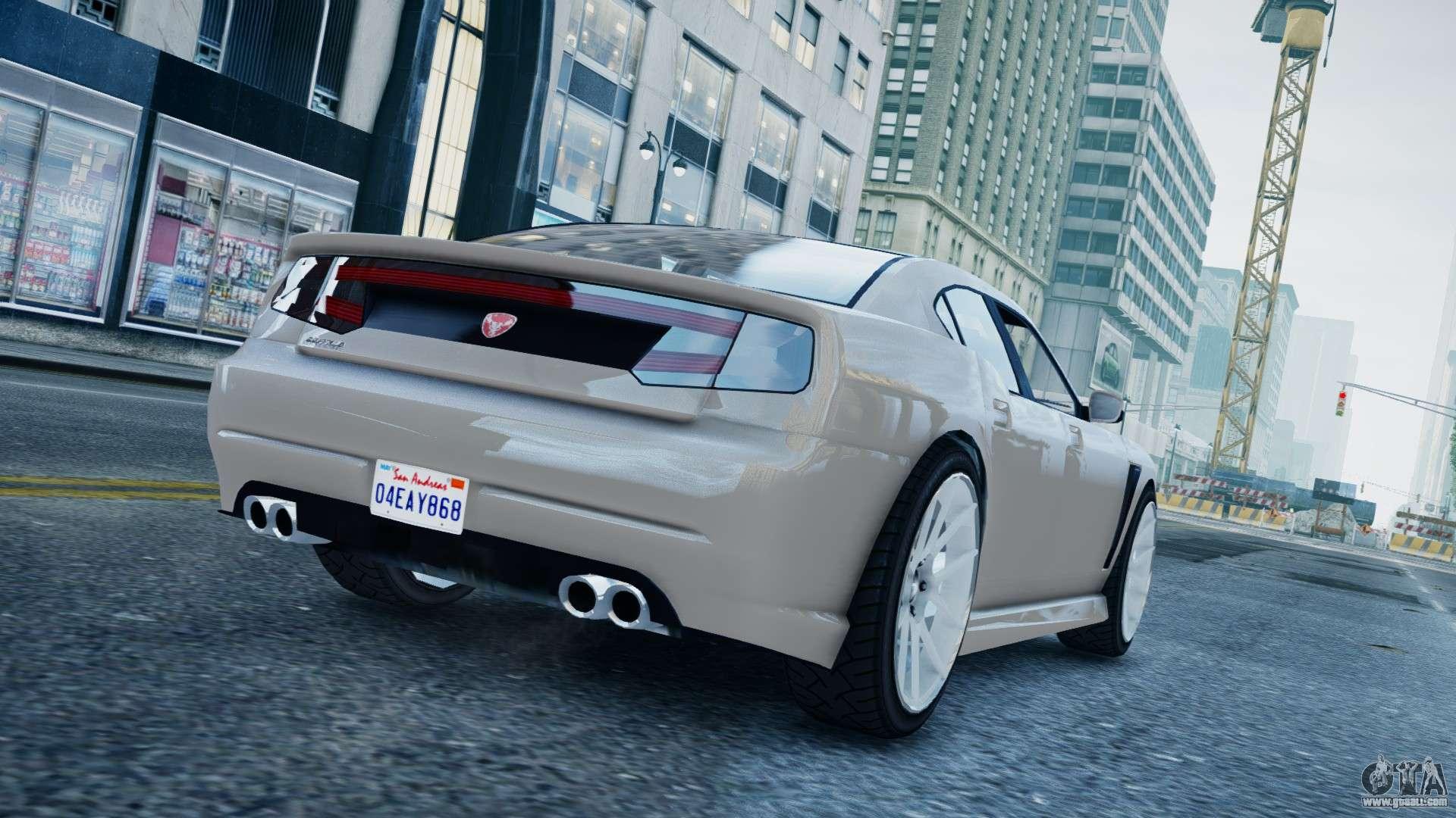 GTA 5 Bravado Buffalo for GTA 4