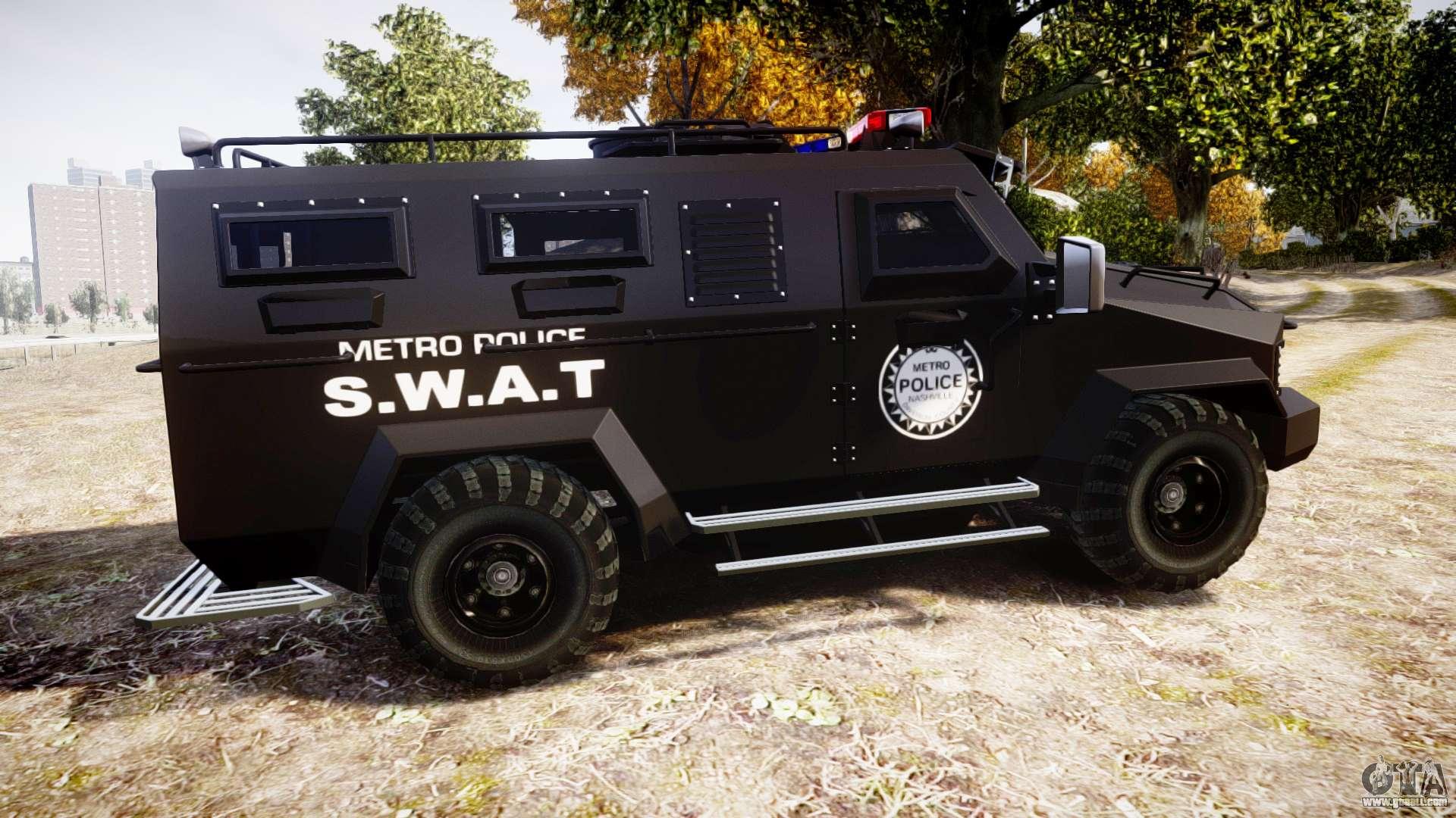 swat van metro police for gta 4
