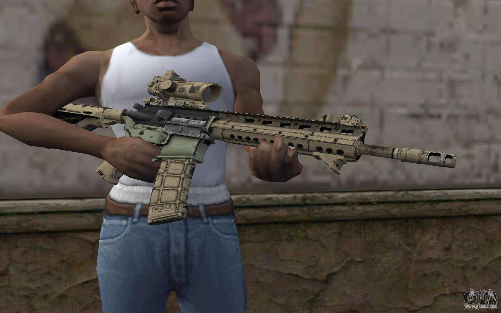 Larue OBR MOHW for GTA San Andreas third screenshot