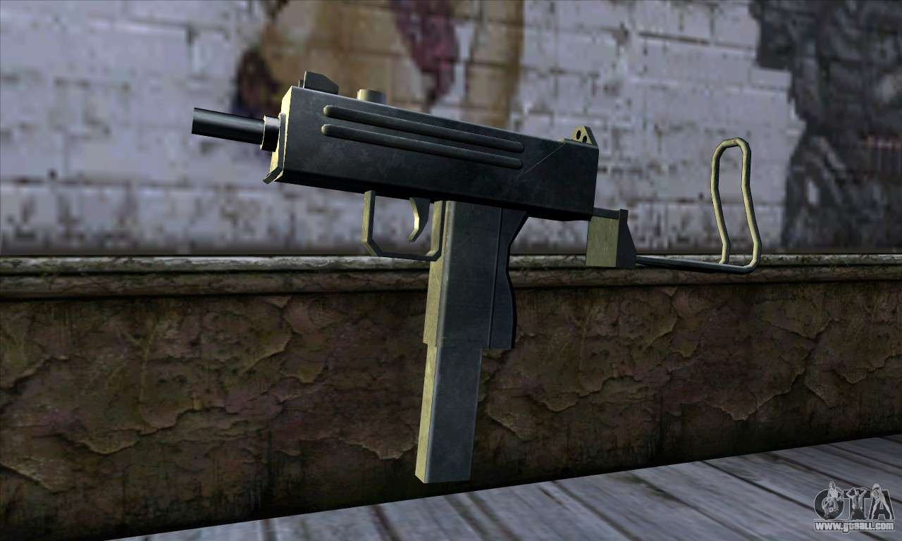 Micro Uzi v2 for GTA San Andreas