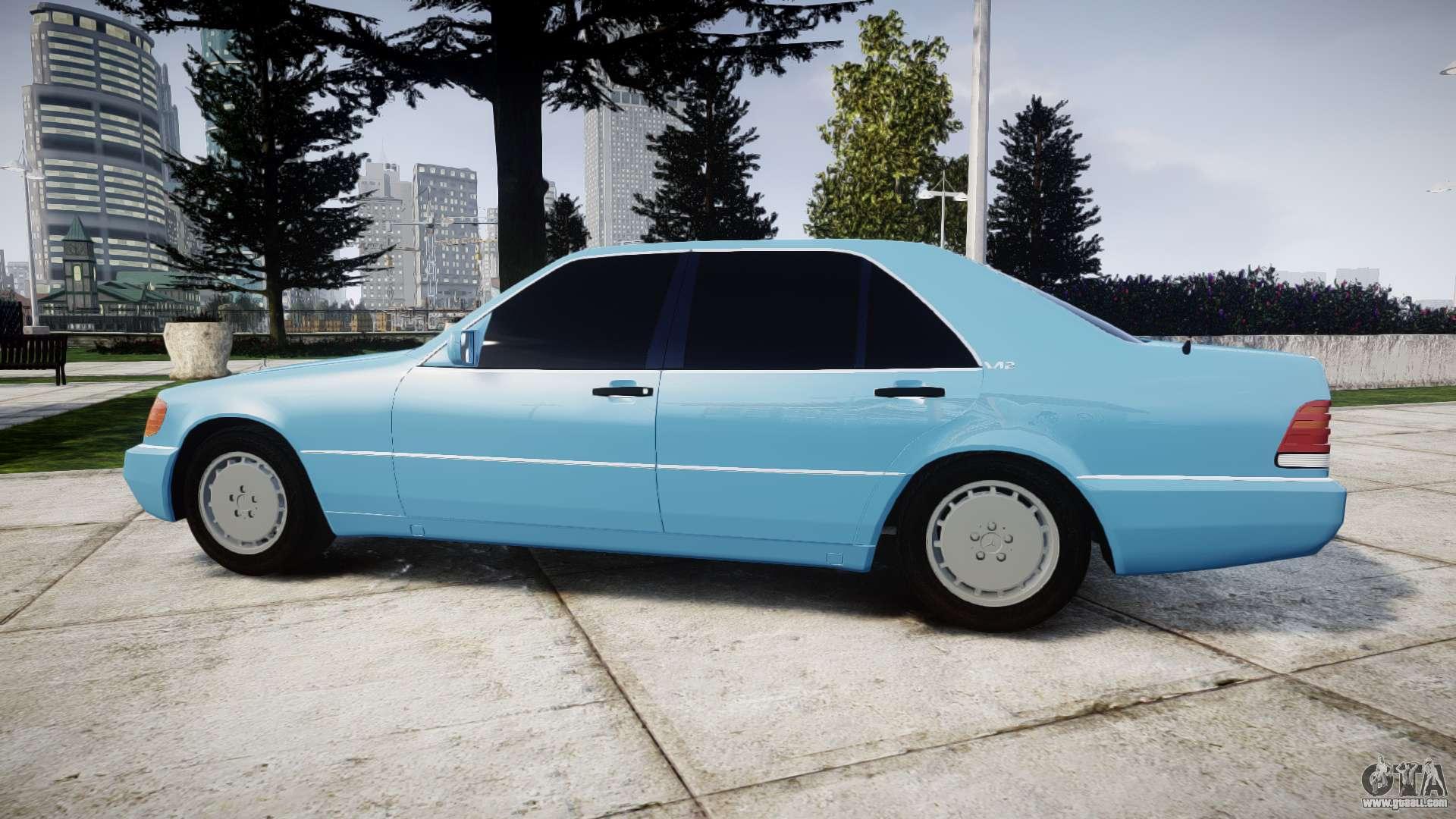 Mercedes Benz 600sel W140 For Gta 4