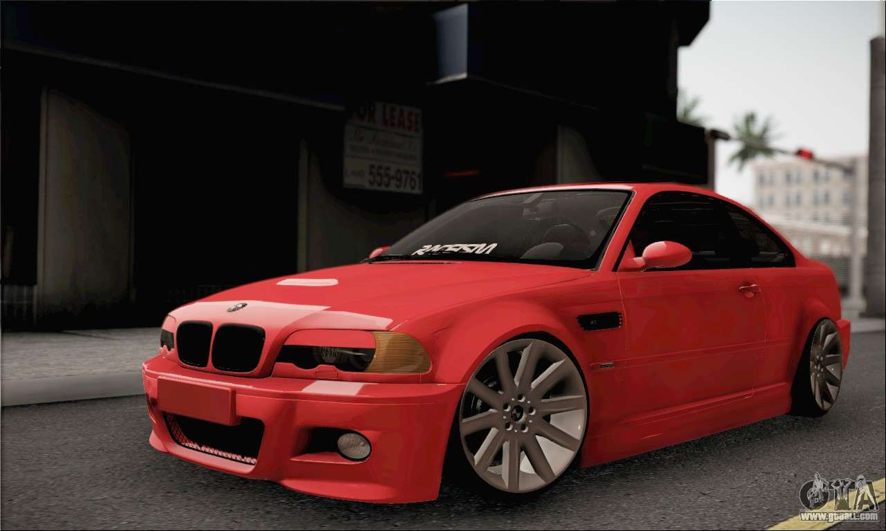 bmw m3 coupe tuned for gta san andreas. Black Bedroom Furniture Sets. Home Design Ideas