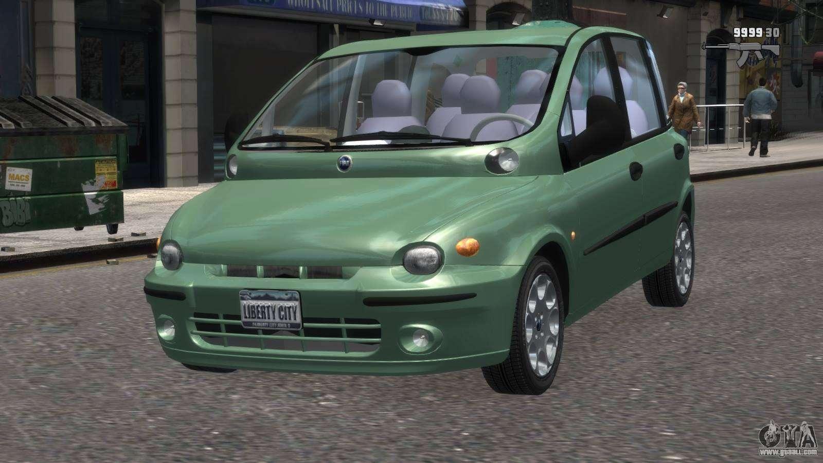 Fiat Multipla Stance Fiat Multipla