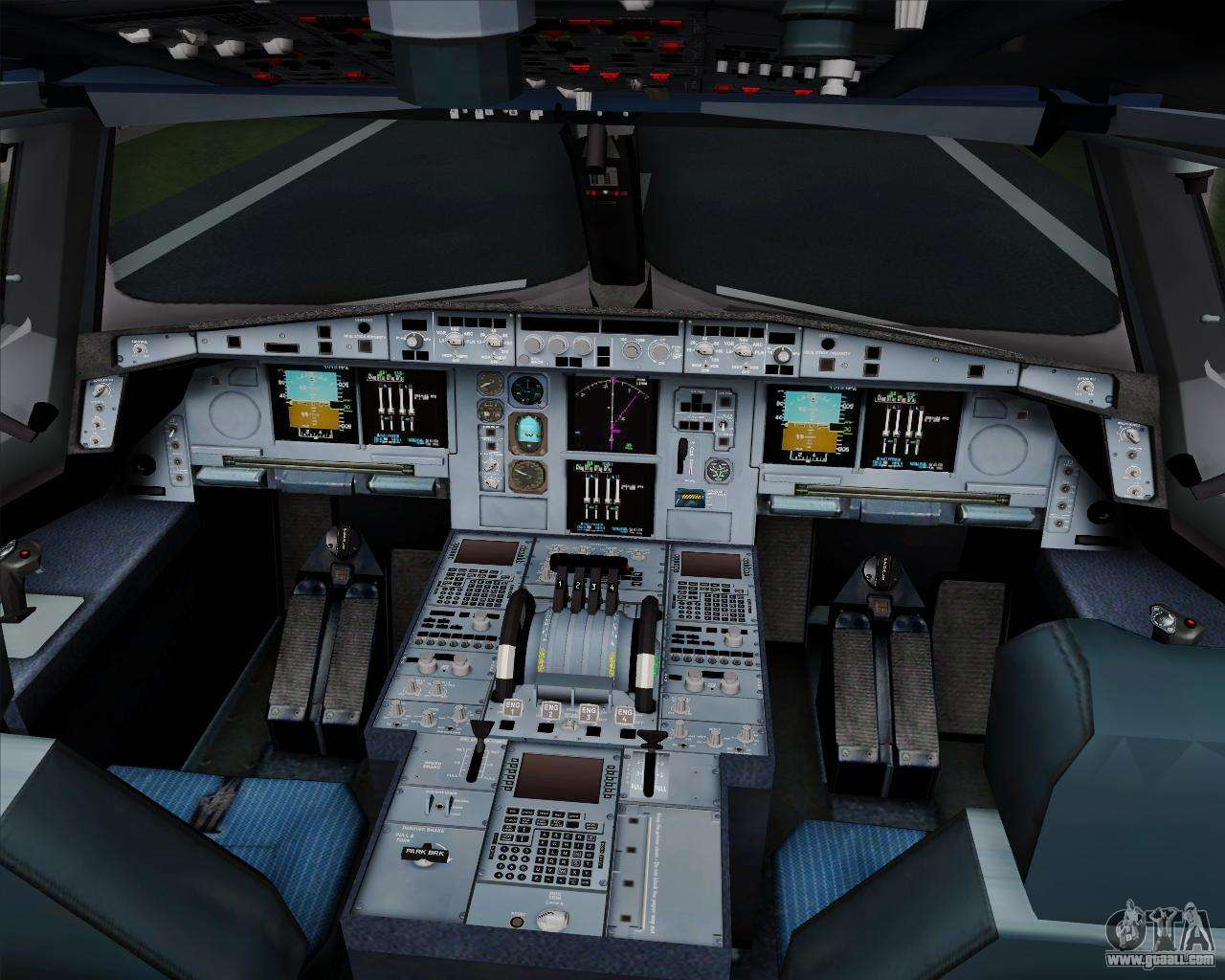airbus a380 800 hainan airlines for gta san andreas