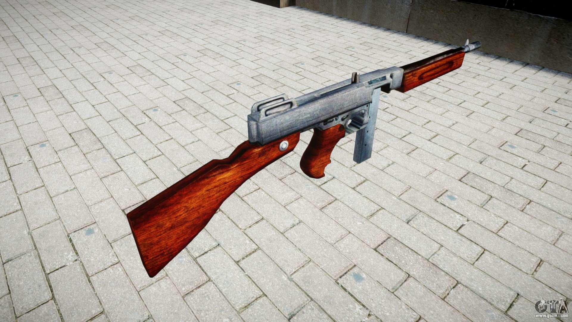 Submachine gun Thompson M1A1 box icon3 for GTA 4