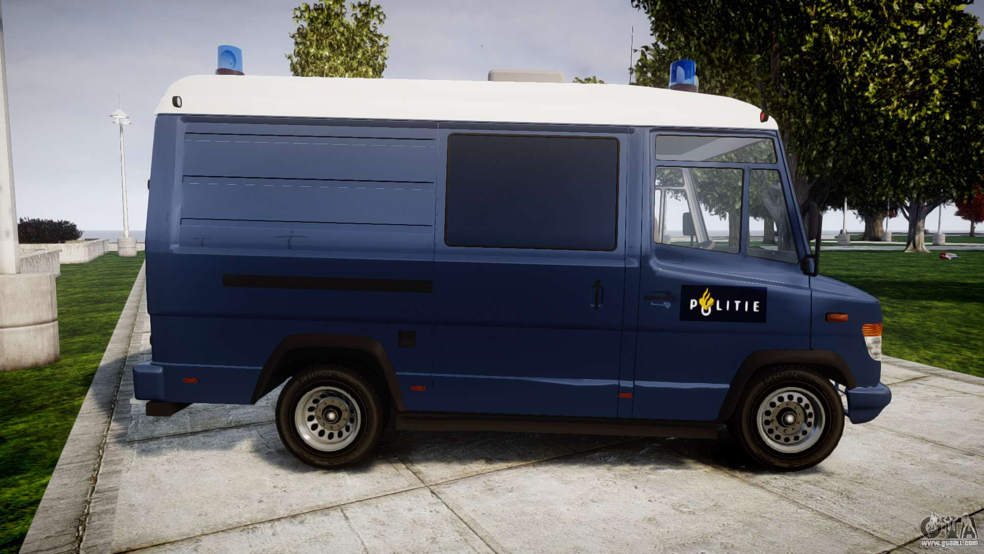 mercedes benz vario 614d swat els for gta 4. Black Bedroom Furniture Sets. Home Design Ideas