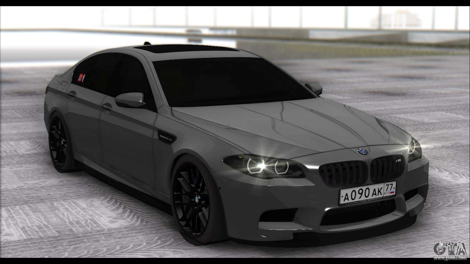 bmw m5 f10 for gta san andreas. Black Bedroom Furniture Sets. Home Design Ideas