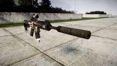 Machine P416 ACOG silencer PJ1 for GTA 4