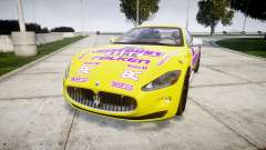 Maserati GranTurismo S 2010 PJ 3 for GTA 4