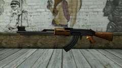Retextured AK47 for GTA San Andreas
