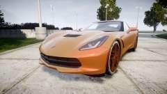 Chevrolet Corvette C7 Stingray 2014 v2.0 TireMi4 for GTA 4
