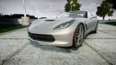 Chevrolet Corvette C7 Stingray 2014 v2.0 TireMi2 for GTA 4