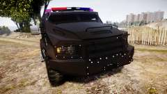 SWAT Van Metro Police for GTA 4