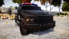 SWAT Van Metro Police [ELS] for GTA 4