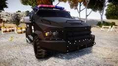 SWAT Van Metro Police [ELS] for GTA 4