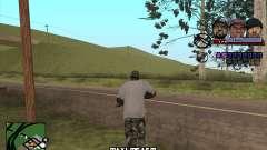 C-HUD Ice Rad Tyga for GTA San Andreas