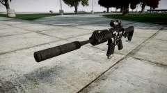 Автомат P416 ACOG silencer PJ3 target