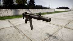 German submachine gun HK MP5SD3