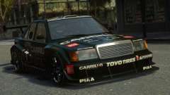Mercedes-Benz 190E Evo2 GT3 for GTA 4