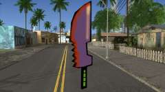 Cartoon sword for GTA San Andreas