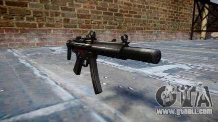 Gun MP5SD DRS CS b target for GTA 4