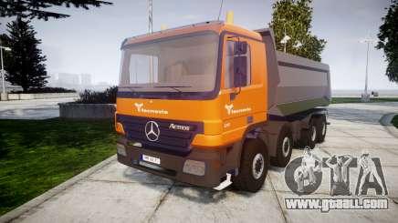 Mercedes-Benz Actros tecnovia for GTA 4