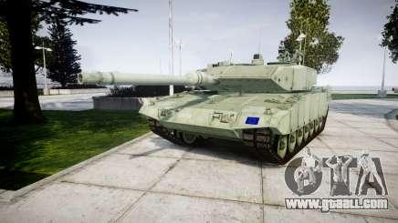 Leopard 2A7 EU Green for GTA 4