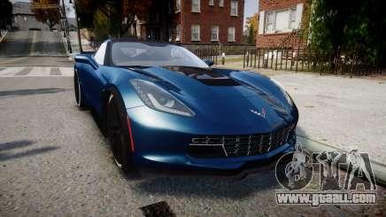 Chevrolet Corvette Z06 2015 TireBr3 for GTA 4