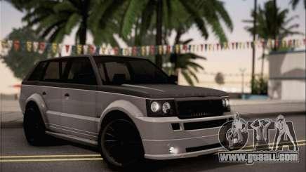 Vapid Huntley for GTA San Andreas