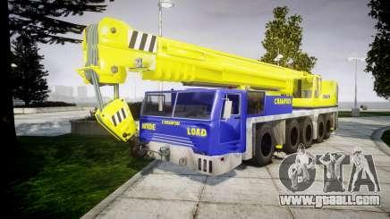 The crane Champion v2.0 for GTA 4