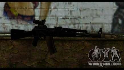 AK-101 ACOG for GTA San Andreas